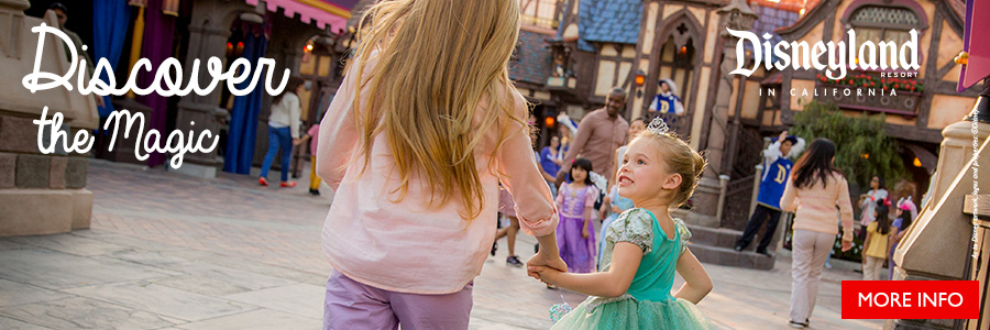 Discover the Magic of Disneyland on sale until March 31, 2018.