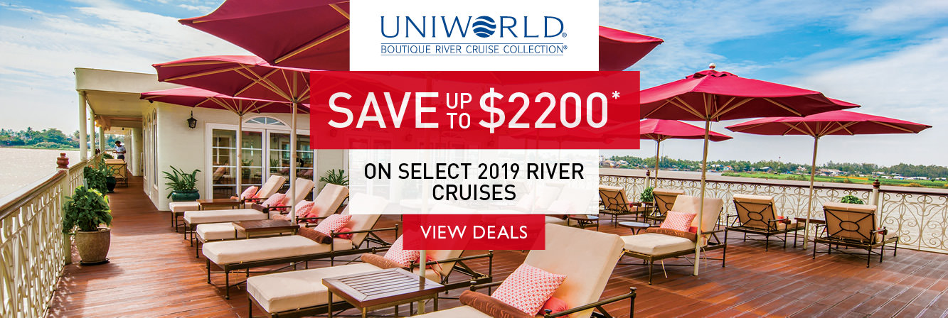 Save up to $2200 on select 2019 Uniworld river cruises