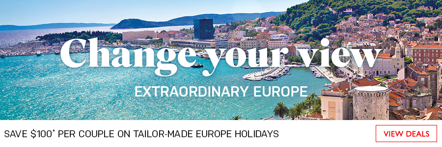 Save $100 per couple on tailor-made Europe holidays
