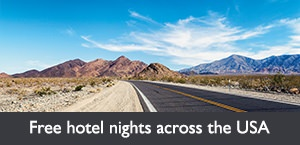 Free hotel nights across the USA with WestJet Vacations