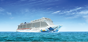 Choose between 5 free* perks<br>on select cruises<br>with Norwegian Cruise Line<br><br>Expires March 31, 2019