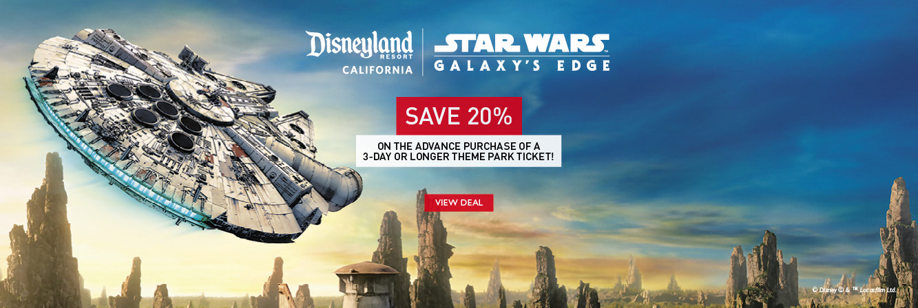 Disneyland ticket savings!