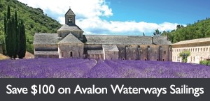 Save $100 per person on select Avalon Waterways sailings