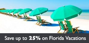 Save up to 25% on Florida holidays with Air Canada Vacations