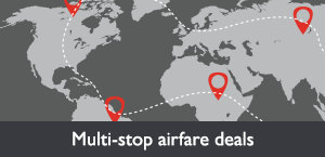 Multi-stop airfare deals