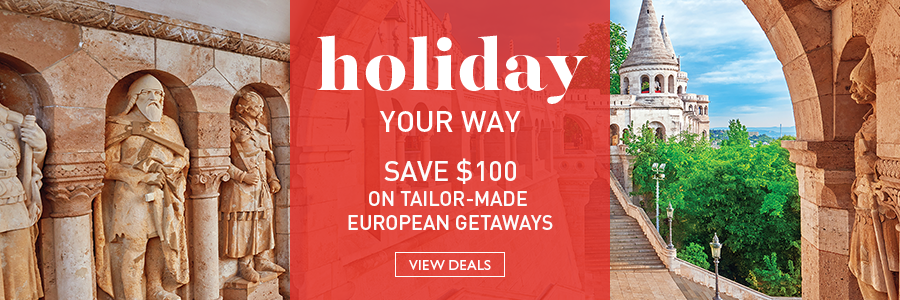 Save $100 per couple on Tailor-Made Holidays
