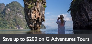 Save up to $200 per person on select G Adventures tours