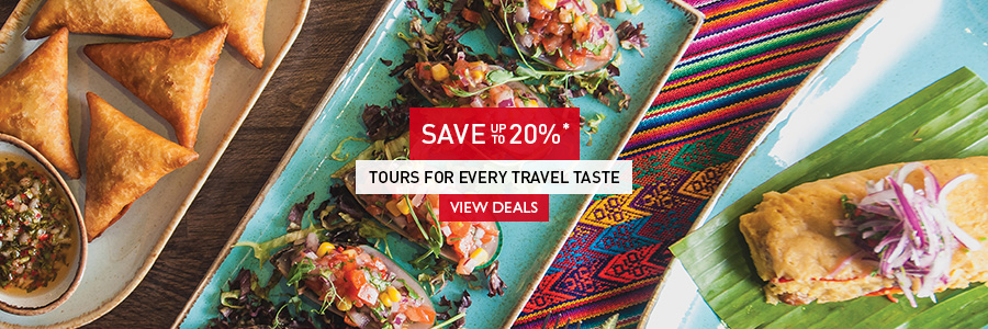 Save up to 20% on tours for every travel taste. Book by May 31!