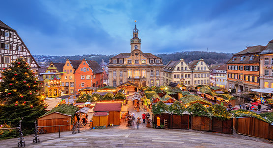 CHRISTMASTIME ON THE RHINE<br>5-day river cruise from $2486*