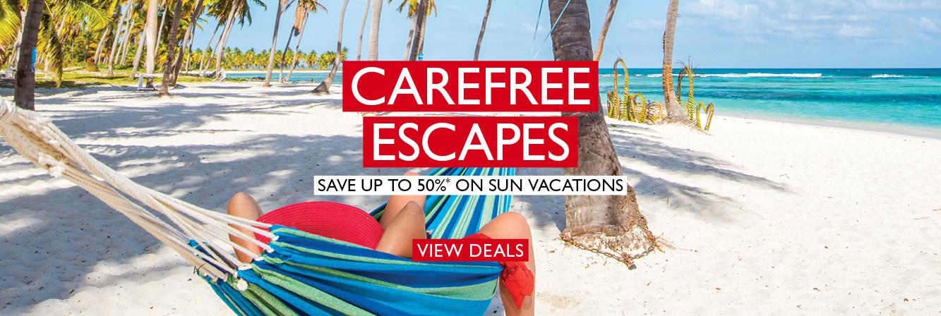 Carefree Escapes - Sun Holidays Near & Far