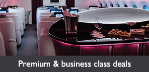 Premium & business class airfare deals