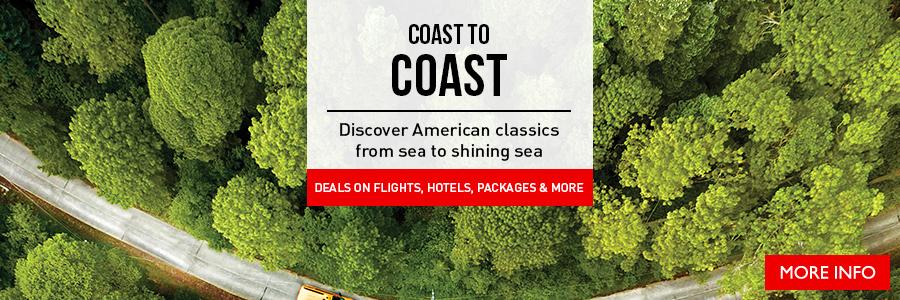 Coast to Coast - Discover American classics from sea to shining sea