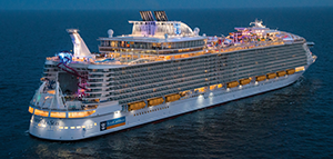 Save 60%* on the second guest<br>on select sailings<br>with Royal Caribbean International<br><br>Expires February 28, 2019