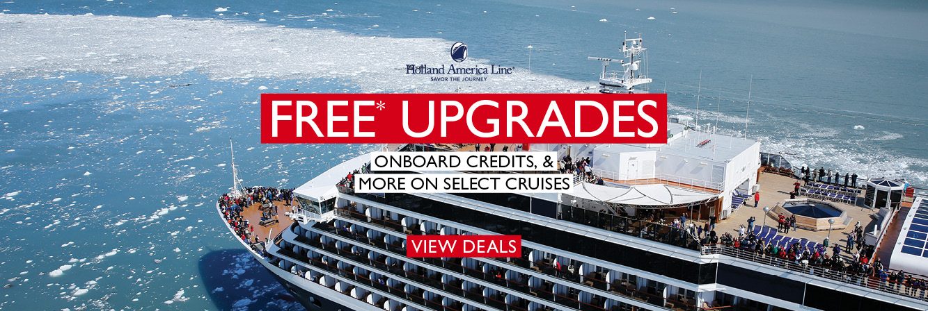 Free Upgrades with Holland America Line