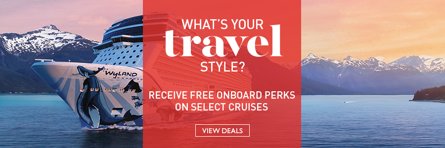 Receive free onboard perks on select cruises