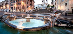 Spanish Steps to the Underground Tour