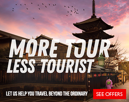 More Tour, Less Tourist - Let us help you travel beyond the ordinary & save today