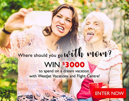 Where should you go with mom? Contest