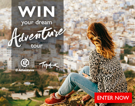Get lost in the adventure - enter to WIN