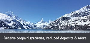 Free gratuities, reduced deposits & more with Holland America