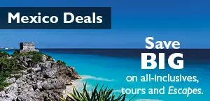 Save BIG on all-inclusives, tours and Escapes