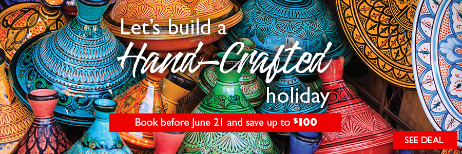 Hand-Crafted Sale -Save up to $100