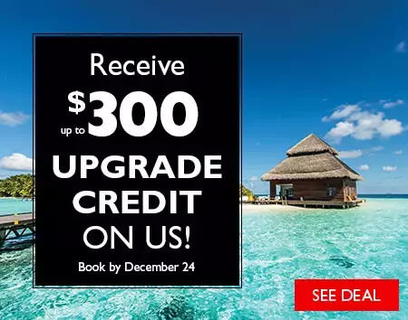Receive up to $300 Upgrade Credit on Us!