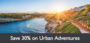 Save 30% on Urban Adventures
