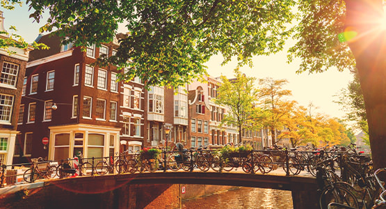 AMSTERDAM EXPLORER<br>6-day tour from $2174*