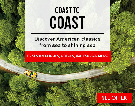 Coast to Coast - Discover American classics from sea to shining sea & save today!