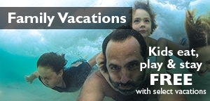 Remember that time...Kids eat, play and stay free on select vacations!