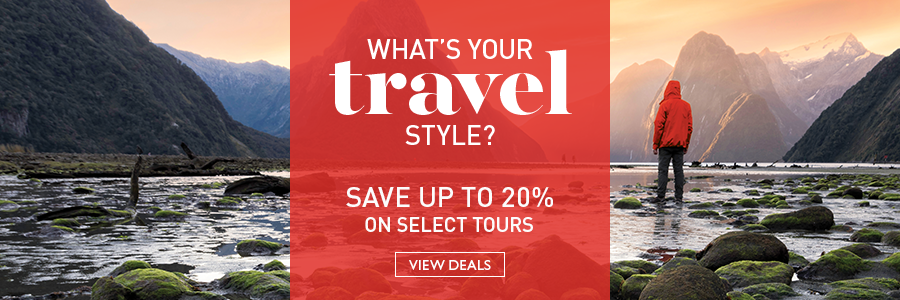 Save up to 20% on select tours