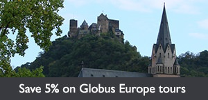 Save 5% on select Globus Europe tours PLUS an additional $150 per couple. Offer expires March 31, 2018.