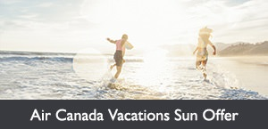 Save up to 50%* on select last minute sun packages