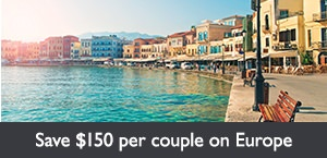 Save $150 per couple to Europetest