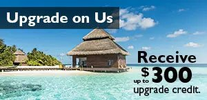 Receive up to $300 upgrade credit
