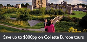 Save up to $300pp on select Collette Europe tours. Offer expires March 31, 2018.