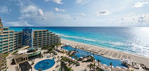 Receive limitless* resort credits<br>at Hard Rock Hotels<br>with WestJet Vacations<br><br>Expires December 20, 2019