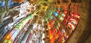 Sagrada Familia's Visit