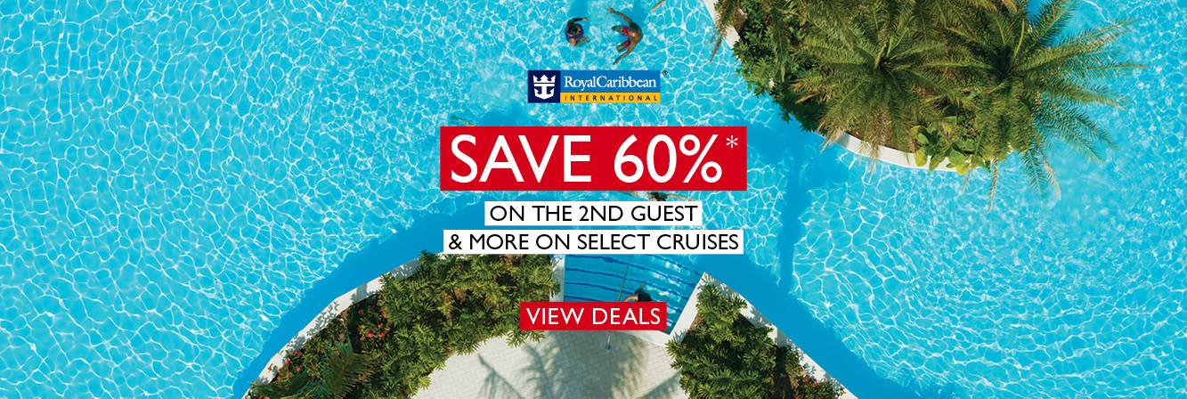 Save 60% + Instant Savings + Kids Sail FREE with Royal Caribbean International