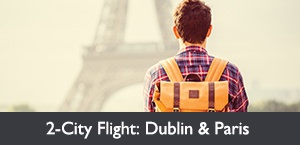 Fare of the Month: 2-City Flight to Dublin & Paris