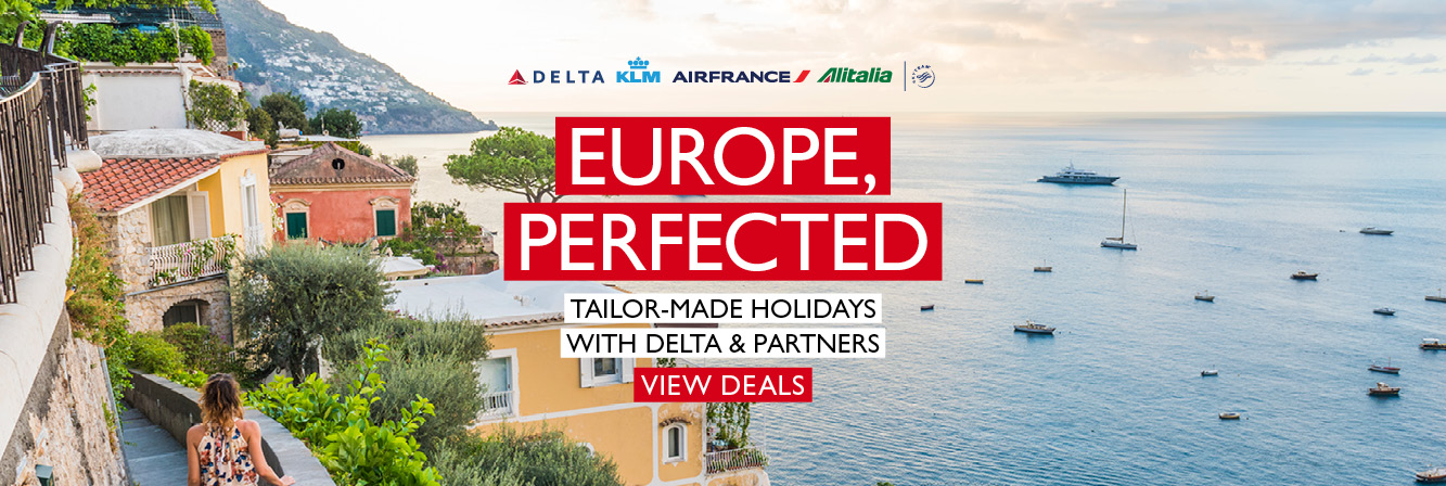 Europe Perfected with Delta, Air France, KLM & Alitalia