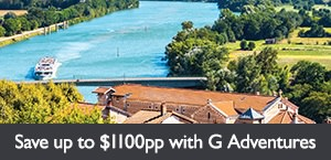 Save up to $1100 on select G Adventures tours. Offer expires March 31, 2018.