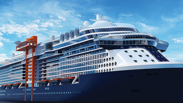Celebrity's Newest Cruise Ship is the Cutting Edge of Design and Gender Equality