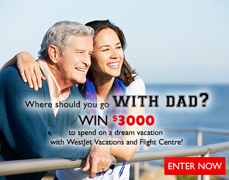 Where should you go with dad? Contest