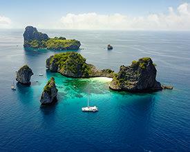 SAILING THAILAND<br>7-Day Tour<br>G Adventures<br><br>$1903*