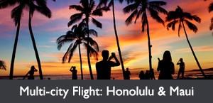 Widest Choice of Airfares - Honolulu & Maui