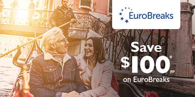 Save $100* per person on EuroBreaks