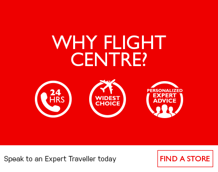 Speak to an Expert Traveller today