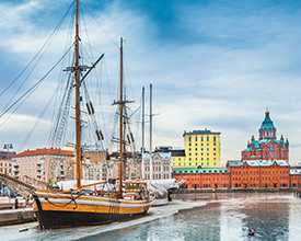 THE NORTHERN LIGHTS OF FINLAND<br>8-Day Tour<br>Collette<br><br>$4919*